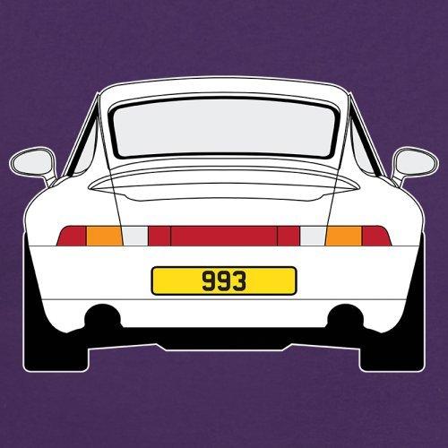 Porsche 993 Weiss - Unisex Pullover/Sweatshirt - 8 Farben Lila