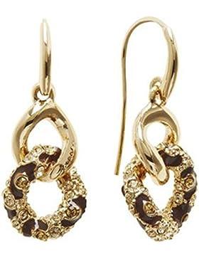 Guess Damen-Ohrhänger rhodiniert Zirkonia gold Rundschliff - UBE21569