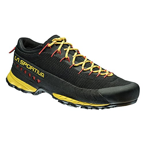 SHOES LA SPORTIVA TX 3 MEN BLACK YELLOW FOR APPROACH TREKKING Nero