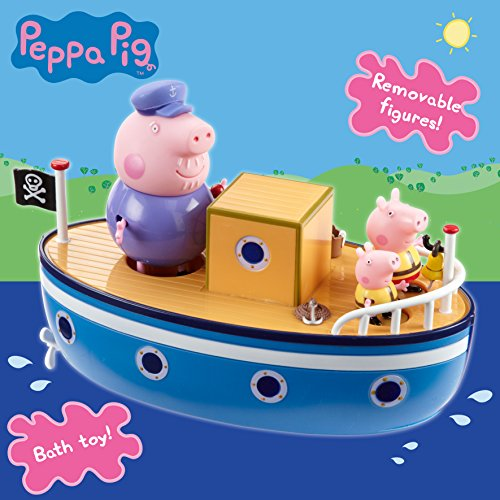 "Image of Peppa Pig 05060 ""Grandpa Pig's"" Bath Time Boat"