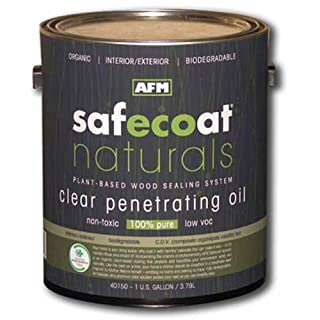 Afm Safecoat Naturals Penetrating Oil, Clear Gallon Can 1/Case by AFM Safecoat