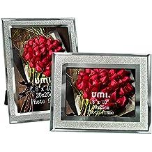 Umi. Essentials Cornici per Foto con Vetro Scintillante 20x25cm, 2 pezzi