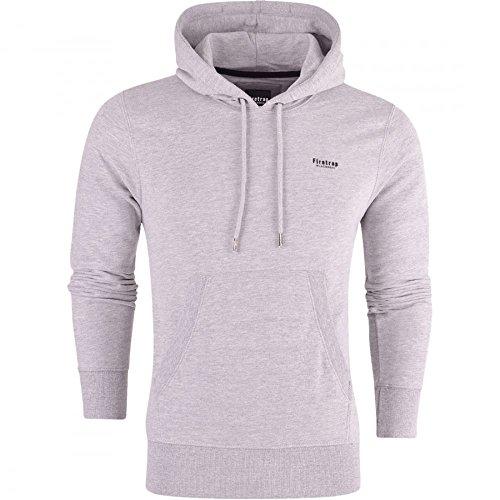 Firetrap Original Mens Designer Classic Overhead Pullover Hoodie Hooded Jumper Sweatshirt Top