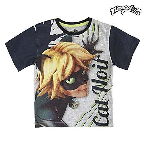 Cerdá Camiseta Manga Corta Ladybug Cat Noir T.3