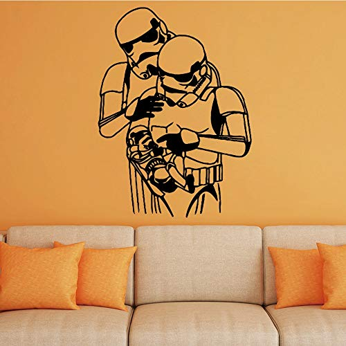 Cartoon Home Decor Moderne Wandsticker Für Kinder Jungen Dekoration Dekorative Vinyl Wandbilder Wallpaper-102x75cm