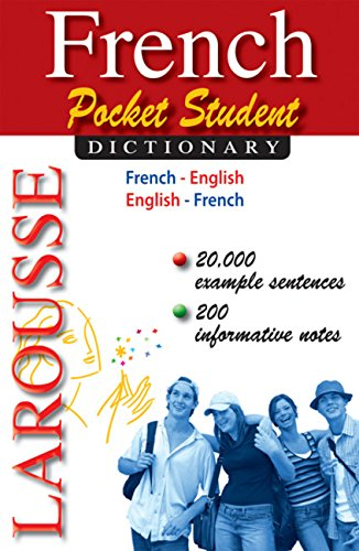 French Pocket Student Dictionary