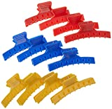 Fripac-Medis Wasserwellklammer, lang, Beutel mit 12 Stück, farblich sortiert
