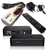 MAG 256 Original Infomir & HMP IPTV Streamer SET TOP BOX Multimedia Internet TV Konsole USB HD