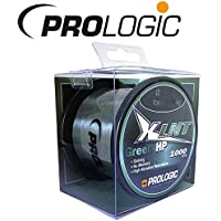 Prologic XLNT HP Moss Green 1000m verde–Hilo para pescar para carpas,–Sedal para pesca de carpas, monofile cuerda, 0.40mm/24lbs/11.0kg Tragkraft
