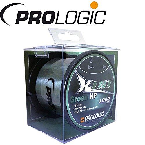 Prologic XLNT HP Moss Green 1000m grün - Karpfenschnur zum Karpfenangeln, Angelschnur zum Angeln auf Karpfen, Monofile Schnur, Durchmesser/Tragkraft:0.33mm/16lbs/7.4kg Tragkraft