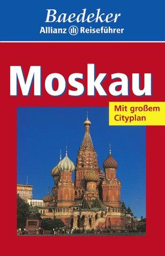 Baedeker Allianz Reiseführer Moskau - Moskau Stadtplan