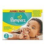 Verwöhnt Neues Baby Größe 3 (Midi) Jumbo-Pack 68 Windeln - Packung mit 6