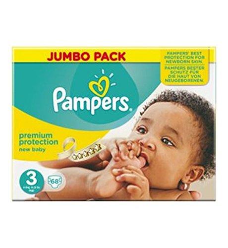 Preisvergleich Produktbild Verwöhnt Neues Baby Größe 3 (Midi) Jumbo-Pack 68 Windeln