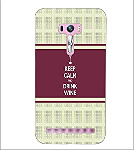 PrintDhaba Quote D-2726 Back Case Cover for ASUS ZENFONE SELFIE ZD551KL (Multi-Coloured)