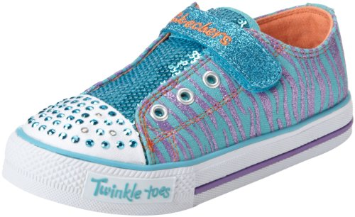 Skechers ShufflesSweet Safari 10302N Mädchen Sneaker Türkis (TQPR)