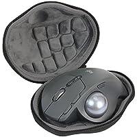Hard Travel Case for Logitech MX Ergo Advanced Wireless Trackball Mouse by co2CREA (black)