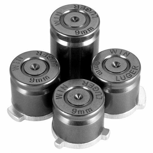 Xbox One Alu Bullet ABXY / Center Tasten Set - titanium -