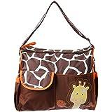 Prochive Bolso cambiador de bebé, mochila para carrito, cambiar pañal, Multifunctional para madre con dibujo animal Gran Espacio