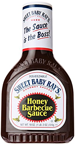 Sweet Baby Ray's BBQ Sauce - Honey, 1er Pack (1 x 510 g Flasche)