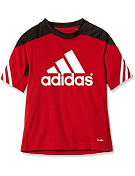 adidas Trikot Sereno 14 Training Jersey Camiseta, Niños, Rojo/Negro/Blanco, 164