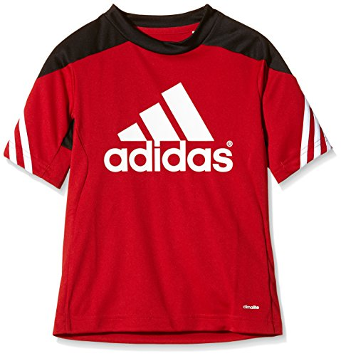 Rot Fußball Trikots (adidas Kinder Trikot Sereno 14, University Red/Black/White, 152, D82939)