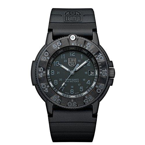 Luminox Original Navy SEAL XS.3001.BO Reloj de Plásticolsera Cuarzo Hombre correa de Plástico Negro