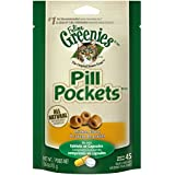 FELINE GREENIES PILL POCKETS Treats for Cats Chicken Flavor - 1.6 oz. 45 Treats