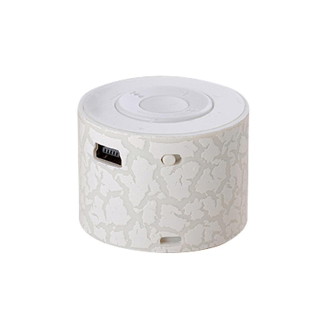 Portable mini wireless stereo Bass altoparlanti lettore musicale wireless TF speaker by Mml, 2-White