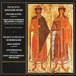 Prokofiev:Alexander Nevsky/Rim [Import allemand]