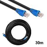 30m Outdoor Netzwerkkabel Lankabel Patchkabel CAT6 U/UTP