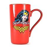 Wonder Woman Latte-Macchiato Mug Classic Half Moon Calici Tazze