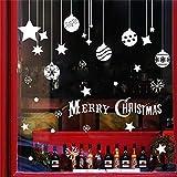 Taifaheng Wandaufkleber Aufkleber Abnehmbar für Schlafzimmer WohnzimmerHängende Glasfensteraufkleber dekorative Wandaufkleber Fensteraufkleber abnehmbare Aufkleber A 45 * 60