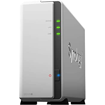 Synology DS115J NAS 1-Slot,  Bianco