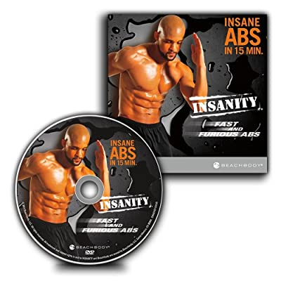INSANITY Fast and Furious Abs: Maximum Results in Less Than 15 Minutes Workout DVD from Beachbody