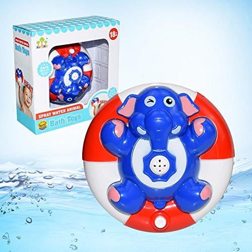 haodene Badespielzeug Spray Wasse Float Drehen Mit Brunnen Spielzeug Wasser Spray Spielzeug Elektrische Induktion Sprinkler Spielzeug Dusche Bad Spielzeug Für Kleinkinder Kinder Jungen Mädchen (Floating-spray-brunnen)