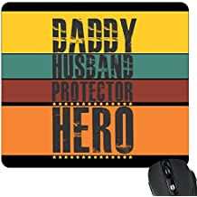 YaYa cafe Daddy Husband Protector Hero Printed Mouse Pad for Dad