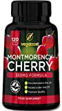 Montmorency Cherry Capsules - 120 Veggie Capsules (4 Month Supply) | Freeze Dried and Packed with Antioxidants by Vegaboost