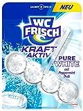 WC Frisch Kraft-Aktiv Duftspüler Pure White, 10er Pack (10 x 50 g)