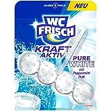 WC Frisch Force de actif Parfum Lave-vaisselle Pure White, Lot de 10(10x 50g)