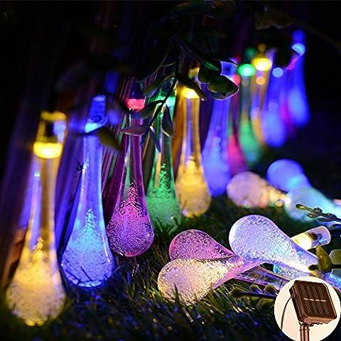 Lampe Solaire Extérieure,Kondisco 30 LED Lumière Extérieure en Forme de