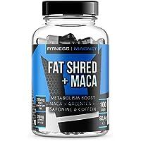 Preisvergleich für FAT SHRED MACA - Fatburner mit dem natürlichen Maca-Testosteron-Boost