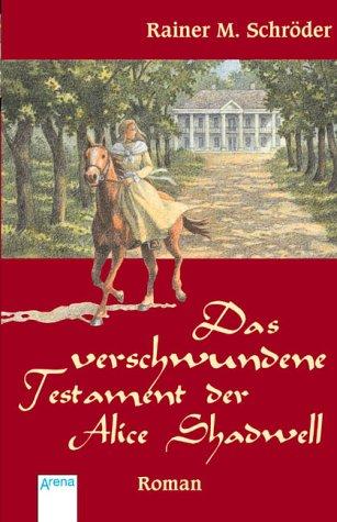 Portada del libro Das verschwundene Testament der Alice Shadwell