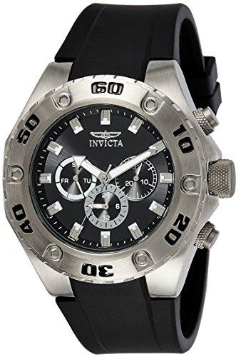 Invicta 21563 Specialty Montre Homme acier inoxydable Quartz Cadran noir