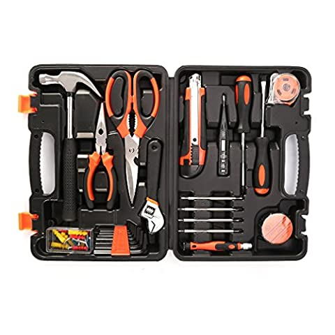 YKS Tool Kit 45PCS allgemeine Haushalt Hand Hardware Werkzeug Set