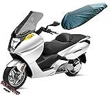 Couverture Selle Protege Siege Moto Antipluie Impermeable Protection noir M