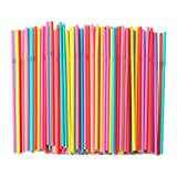 IKEA SODA Drinking Straw Assorted Colours/Pack of 200
