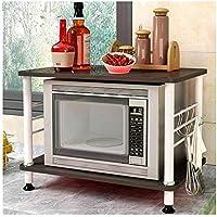 Estante De Cocina Estantería vertical estante horno microondas multifunción  cocina estante piso hogar cocina suministros creativos ccff2638bdc4