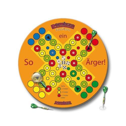 """Bristle Dartboard Spiel """"So ein Ärger!"""" inkl. 3 Dartpfeile + 1 Satz Gamepoint Flys"""