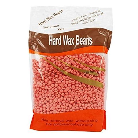 Ularma 300g Hair Removal Wax, No Strip Depilatory Hot Film Hard Wax Beans Pellet Waxing