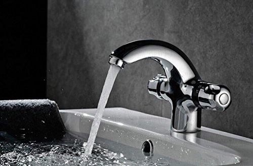MangeooHahn Kupfer kalte Waschbecken Waschbecken intelligente Temperatur Stufe Becken baby baby Schwimmbad Wasserhahn (Temperatur Stufen)